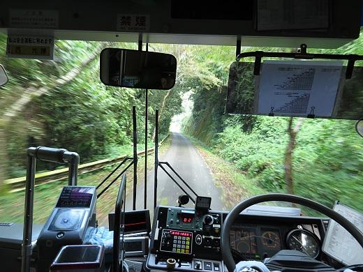 2014.9.29 五新線専用道 バス車中1.JPG