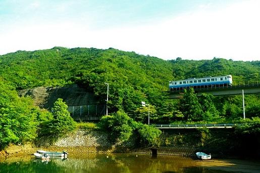 2017.6.18 阿佐海岸鉄道阿佐東線 宍喰-海部 キハ40形1.JPG