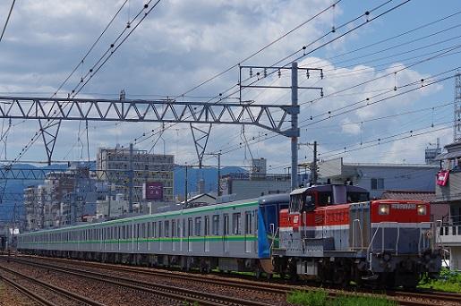 2017.6.2 東海道本線 立花-尼崎 東京メトロ16000系甲種1.JPG