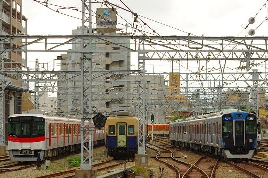 2017.6.25 阪神本線 尼崎 山陽6000系と阪神5700系1.JPG