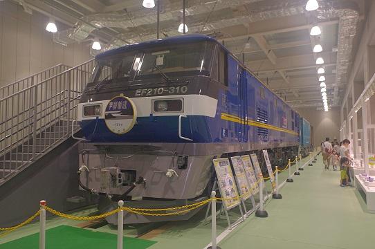 2017.8.13 京都鉄道博物館 EF210-310貨物展示.JPG