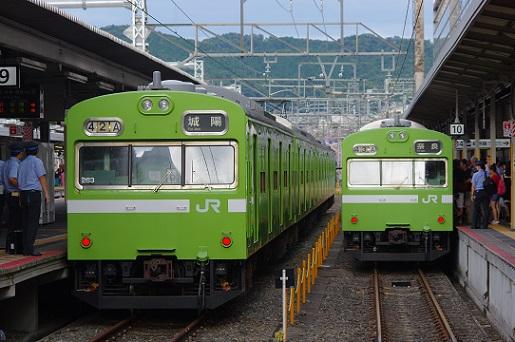 2017.8.13 奈良線 京都 103系みやこ路快速1.JPG