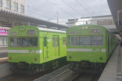 2017.8.13 奈良線 宇治 103系みやこ路快速1.JPG