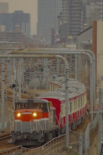 2018.1.28 山陽本線 兵庫-神戸タ 京急1000系甲種1 .JPG