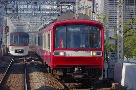 2018.3.12  京急本線 八丁畷-京急川崎 2000系1.JPG