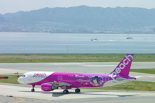 2014.5.1 関西空港 マリコ様ジェット1.JPG