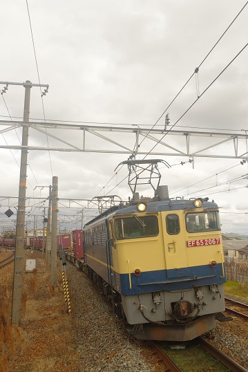 2019.2.8 東海道本線 山崎 5087レEF65国鉄色1.JPG