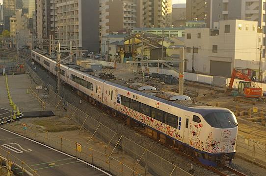 2019.4.16 梅田貨物線 梅田(信)-新大阪 キティ はるか2.JPG