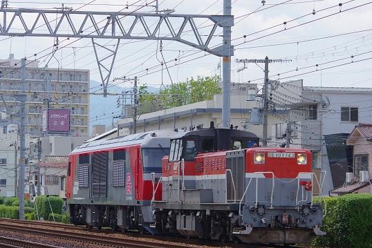 2019.6.4 東海道本線 立花-尼崎 DF200甲種1.JPG